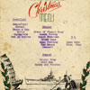 A Christmas menu from the 1946-58 commission. Contributed by the son of Ernest William Parkes who was a Stoker Mechanic