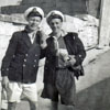 EA Alan Clements and EA Algy Longworth at Corradino, Malta. Photo from Alan Clements