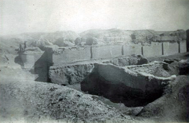 Padre's visit to Ur of the Chaldees, Iraq. This is the Biblical site of Abraham's birth. Image from Keith Butler