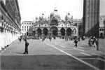 Saint Mark's Basilica, Venice, 1950. Photo from Alan Clements