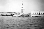 Venice from HMs Gambia, 1950. Photo from Alan Clements