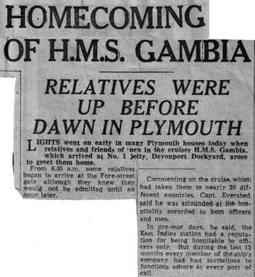 Hmomecoming clipping, 1956