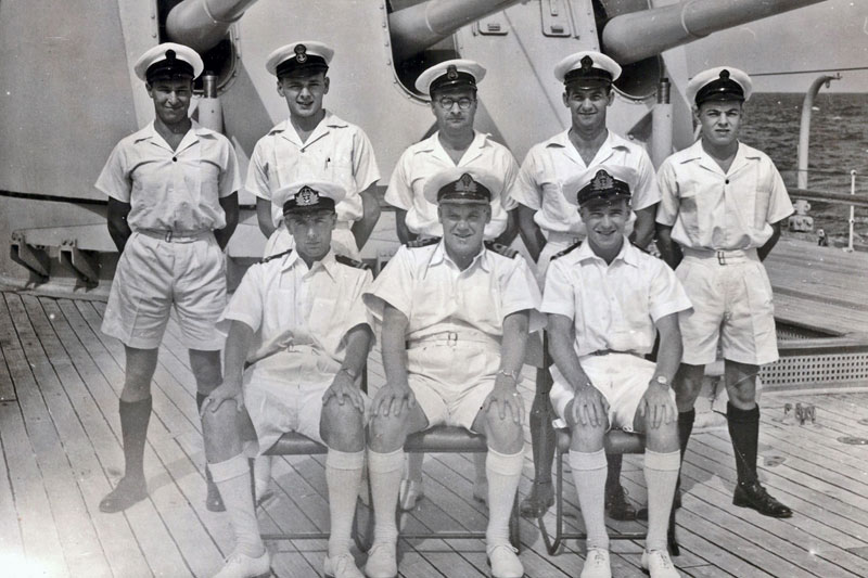 Medical Team on HMS Gambia during the 1955/6 Commission