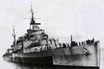 HMNZS Gambia during WWII