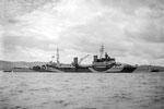 HMS Ceylon at anchor off Greenock, July 9, 1943. Imperial War Museums A17911