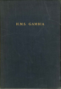 HMS Gambia Commissioning Book 1958-1960