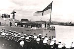 Commissioning at Rosyth, May 1, 1957. Photo kindly supplied by Bob Jackson