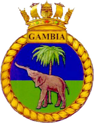 HMS Gambia Crest