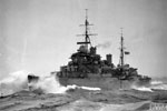 HMS Kenya in the Actic, May 1942. Imperial War Museums A9223