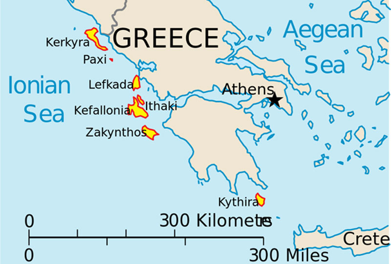Greek Ionian Islands