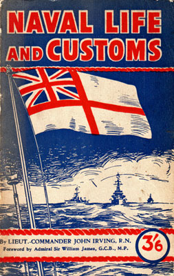Naval Life and Customs cover