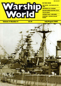Warship World July/August 2005