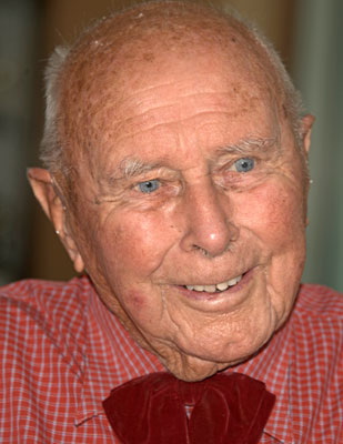 Stuart in 2013, on his 92nd birthday