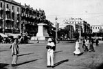 Mohammed Ali Square, Alexandria, Egypt, June 1950. Photo from my dad's albums.