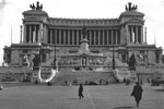 The Altare della Patria, also known as the Monumento Nazionale a Vittorio Emanuele II, Rome, Italy in 1950. Photo from my dad's albums.