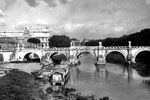 Tiber River, Rome, Italy in 1950. Photo from my dad's albums.