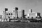 Toranto, Italy, September 1950. The large building, centre, is the Italian Naval Academy. Photo from my dad's albums.