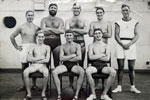 A ship's water polo team?  Photo from Alexander Greaves, Arthur's grandson