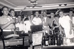 A party on an English liner at Bombay. Photo kindly supplied by Bill Hartland