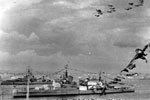 Flypast of Naval Aircraft. Image from Ray Holden