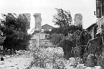 Ruins of buildings at Argostoli, August 1953. Image from Imperial War Museums, A32650